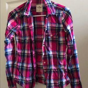 Plaid shirt!  Lightweight